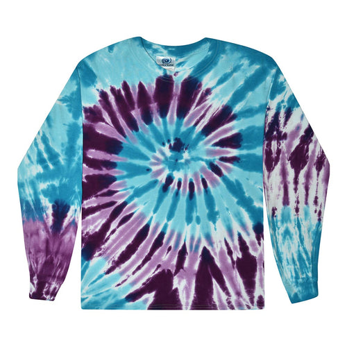 Tie Dye Long Sleeve Shirts