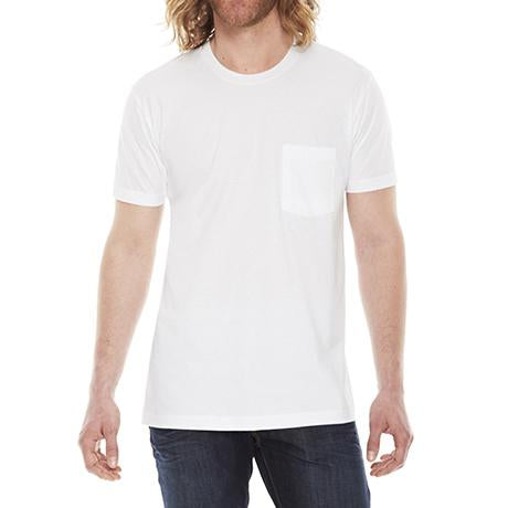 American Apparel Fine Jersey Pocket Short-Sleeve T-Shirt
