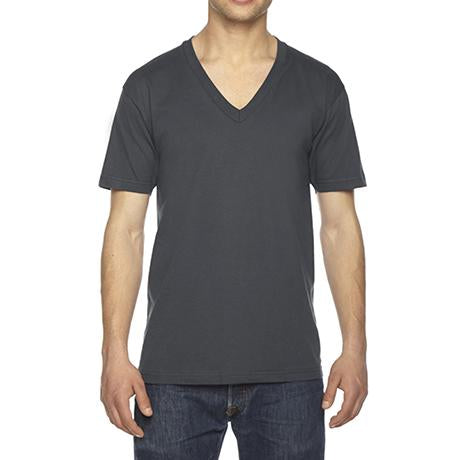 American Apparel Fine Jersey Short-Sleeve V-Neck