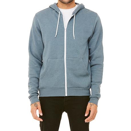 Bella + Canvas Fleece Full-Zip Hoodie