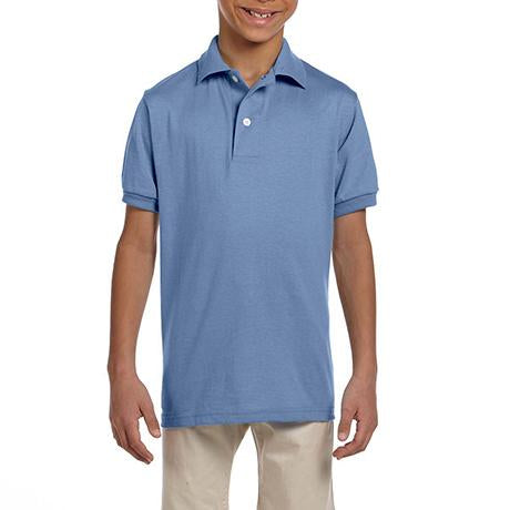 Jerzees Youth SpotShield Jersey Polo