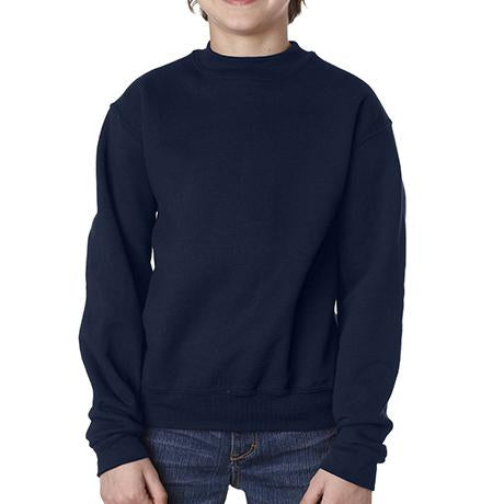 Jerzees Youth Super Sweats Crewneck