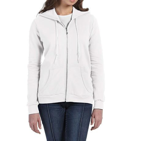 Anvil Ladies' Full-Zip Fleece Hoodie