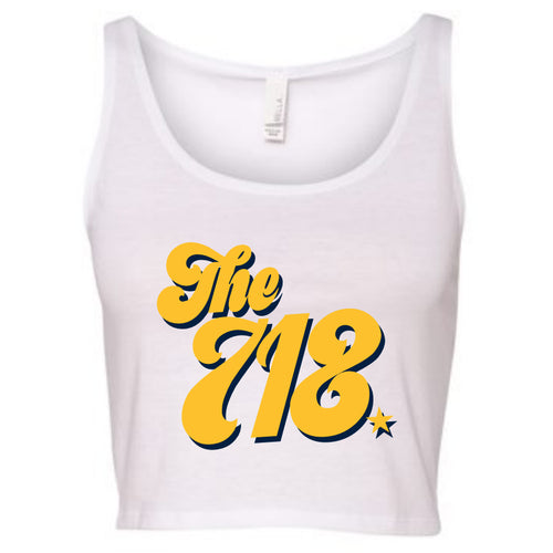 The 718 Cropped Tank