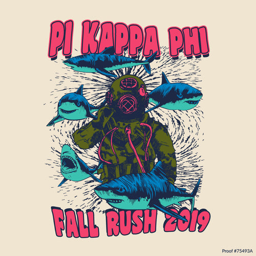 Pi Kapp Sea Diver Art