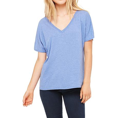 Bella + Canvas Ladies' Slouchy V-Neck T-Shirt