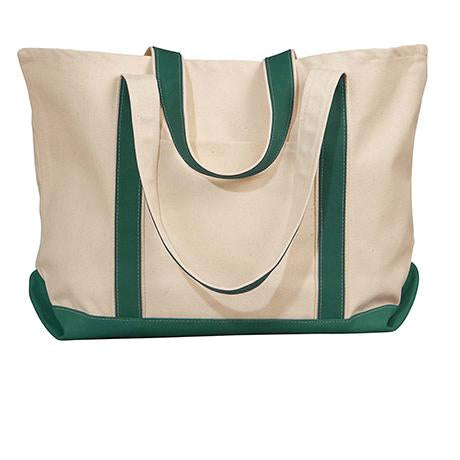 UltraClub by Liberty Bags Carmel Canvas Tote