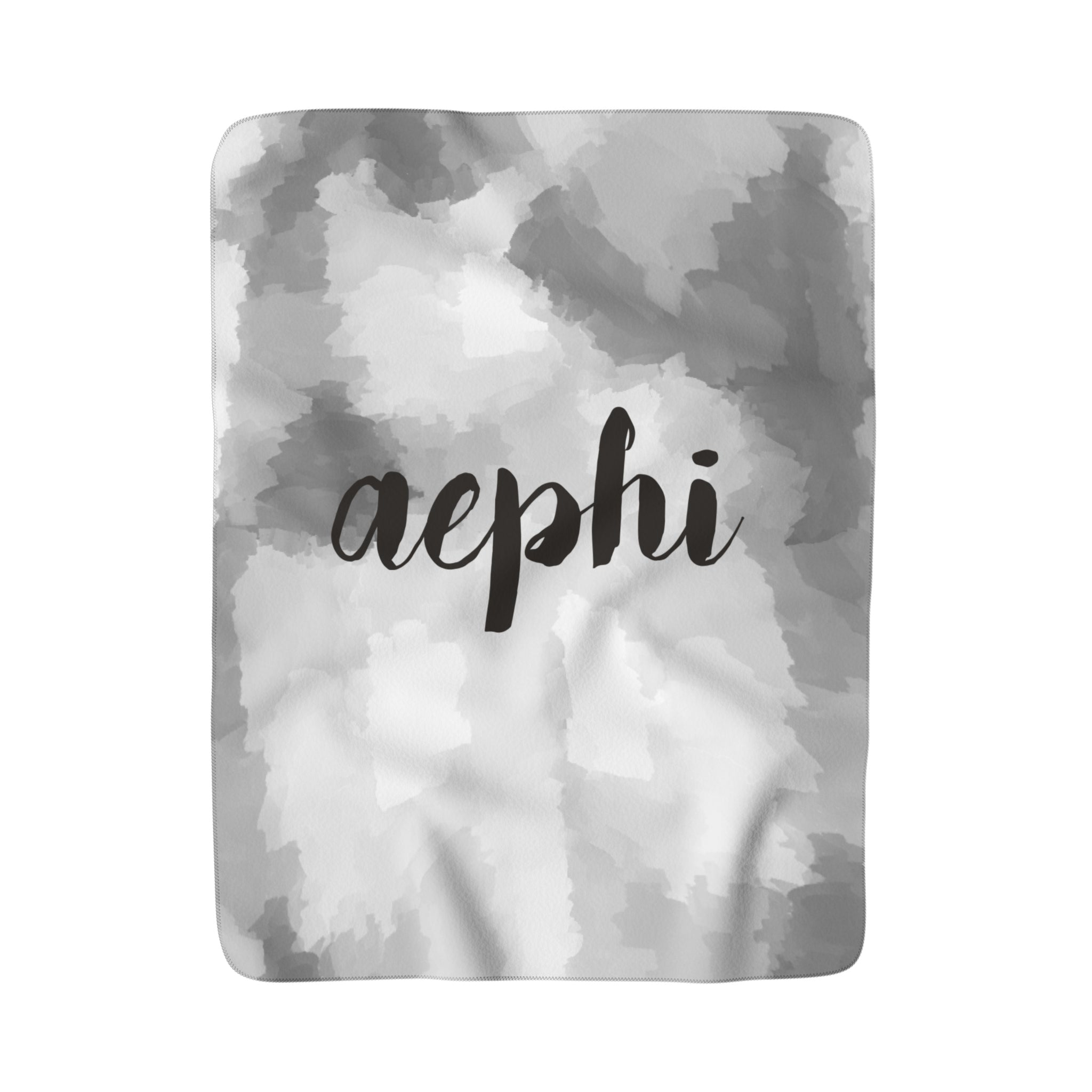 "The AEPhi ""Couldn't be Softer"" Sherpa Blanket"
