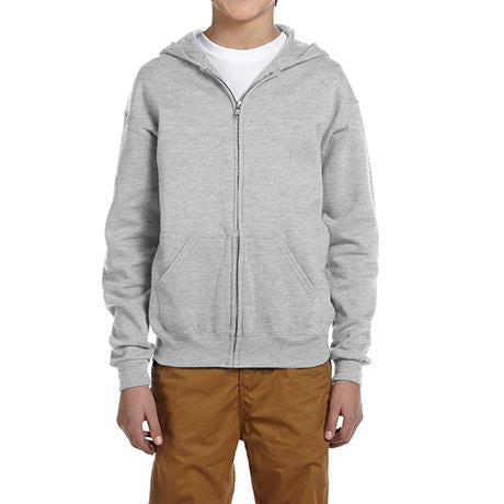 Jerzees Youth NuBlend Fleece Full-Zip Hoodie