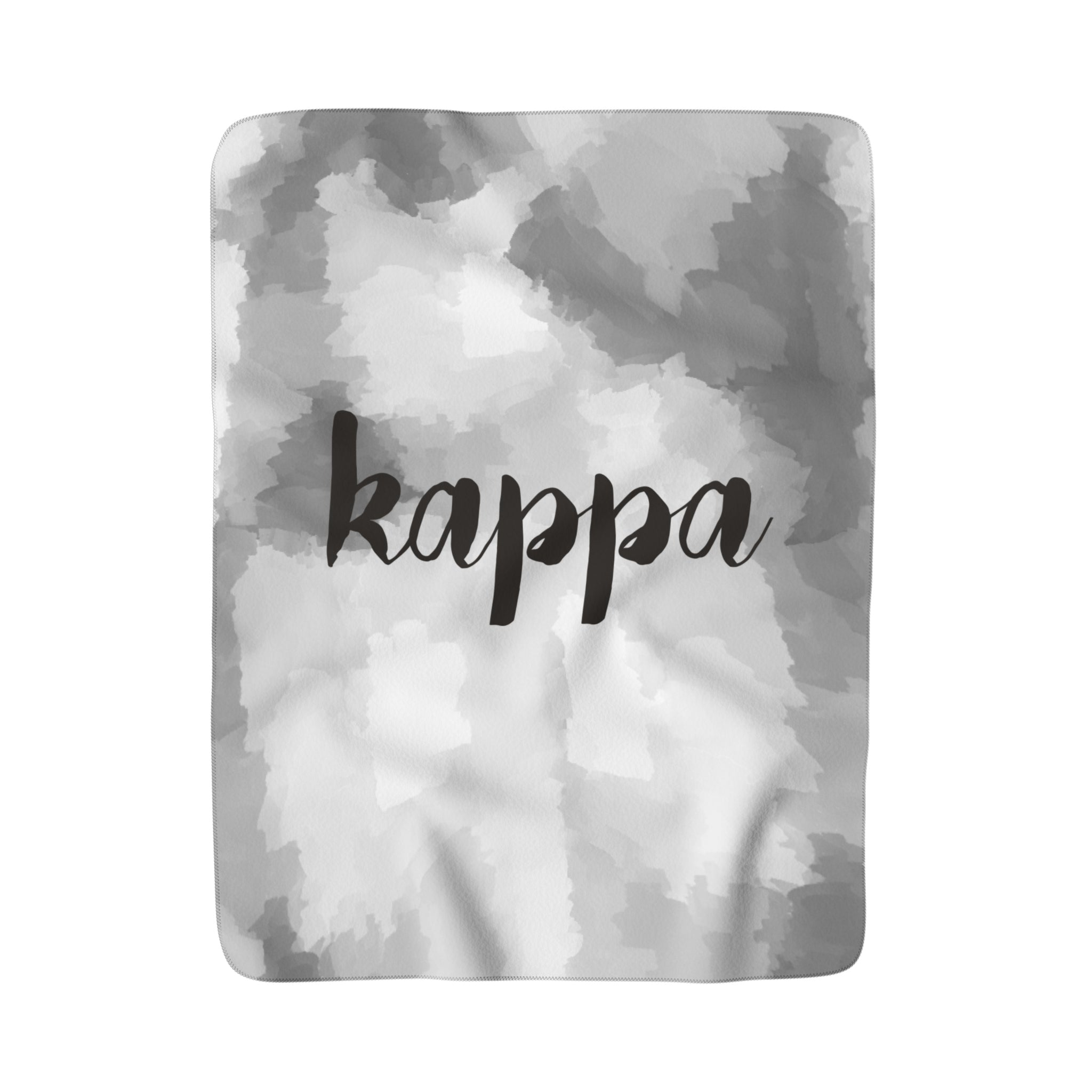 "The Kappa ""Couldn't be Softer"" Sherpa Blanket"