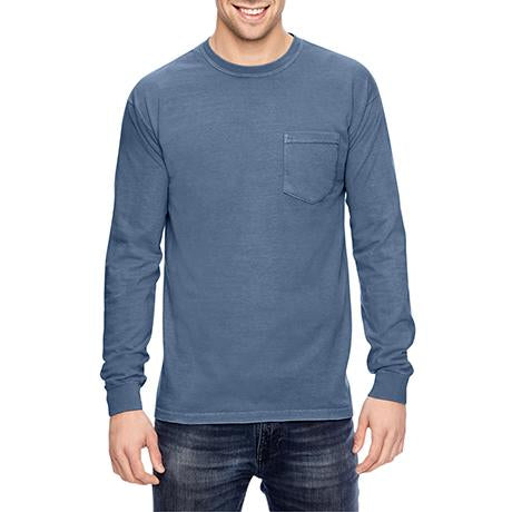 Comfort Colors Long-Sleeve Pocket T-Shirt