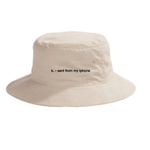 Sent From My iPhone Bucket Hat (4565620490309)