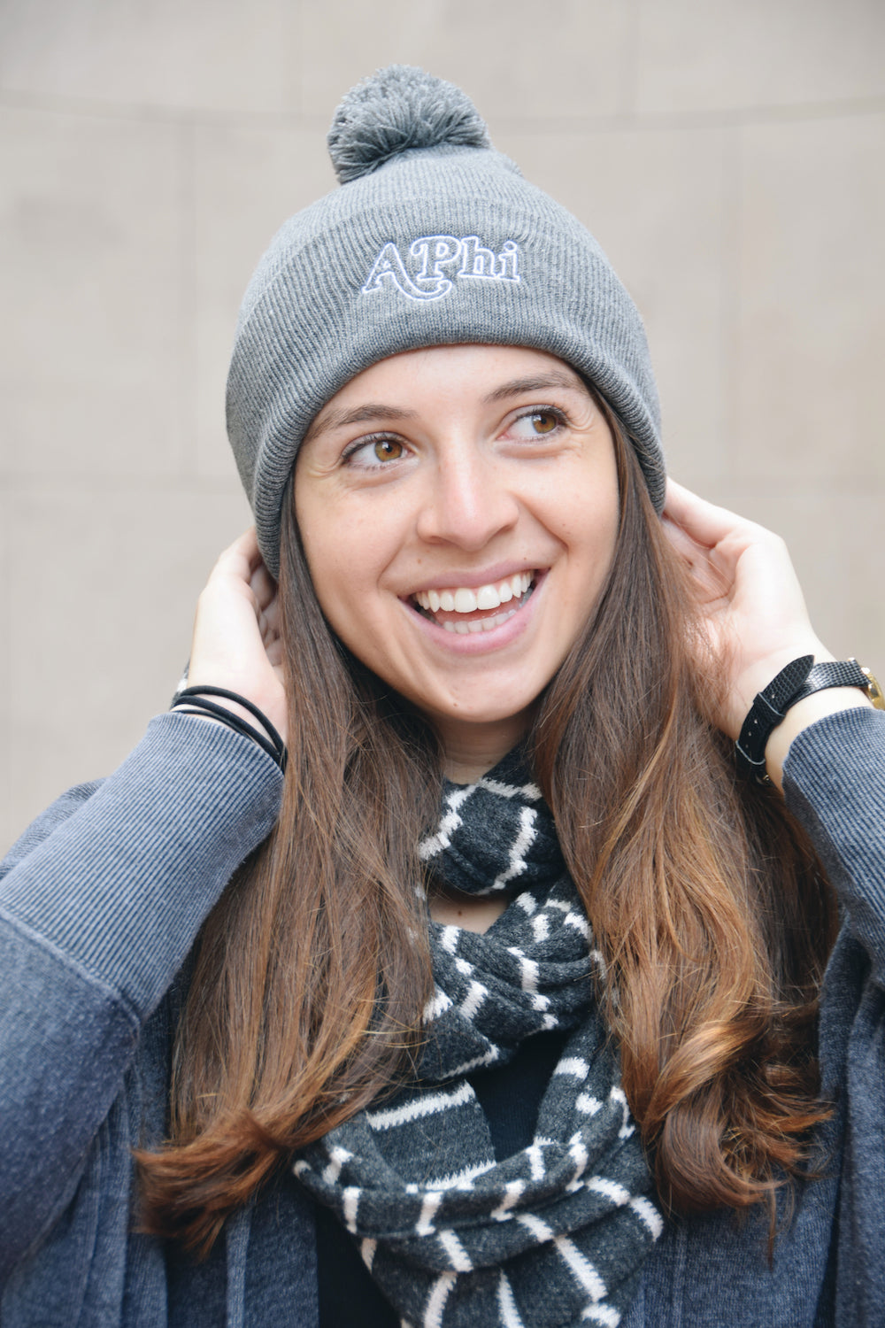 "The Alpha Phi ""Snow Darty"" Beanie"