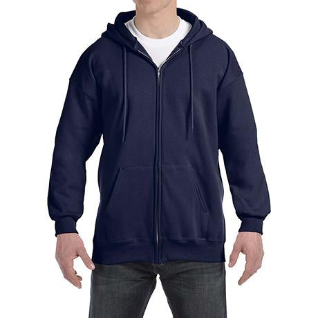 Hanes Ultimate Cotton 90/10 Full-Zip Hoodie