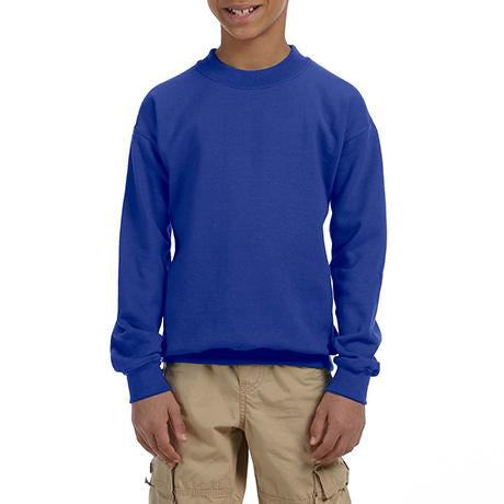 Gildan Youth 50/50 Fleece Crewneck
