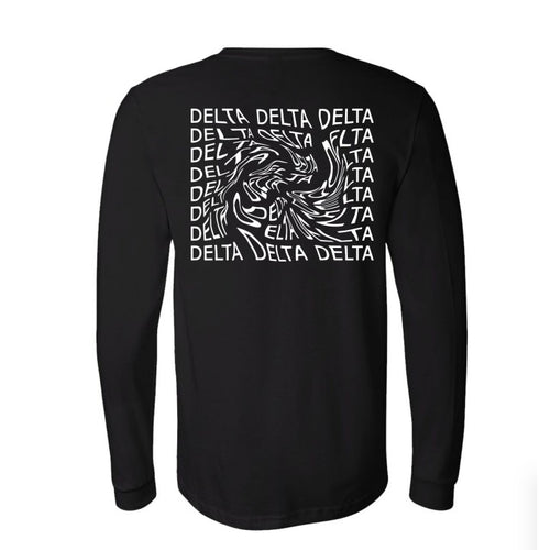 Stanford Tri Delta Long Sleeve Tees! (Listing ID: 4386798862405)