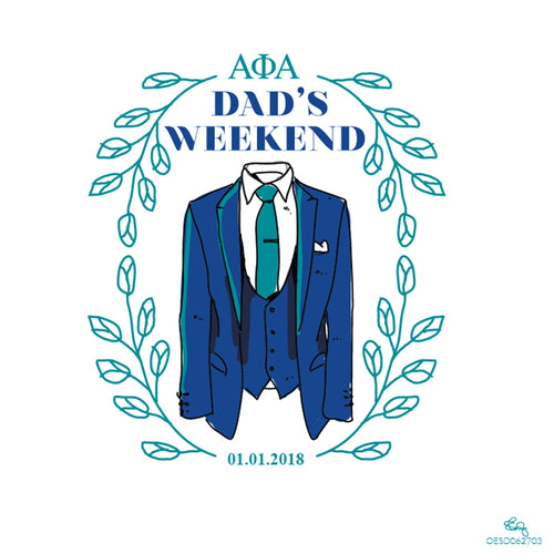 A-Phi-A Preppy Dad's Weekend Art