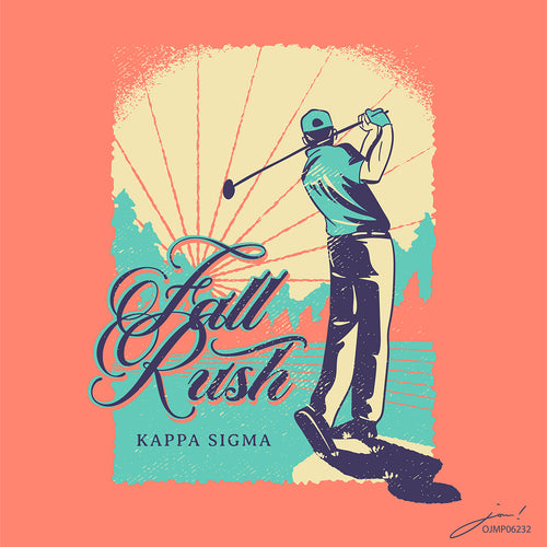 Kappa Sigma Golf Fall Rush Art