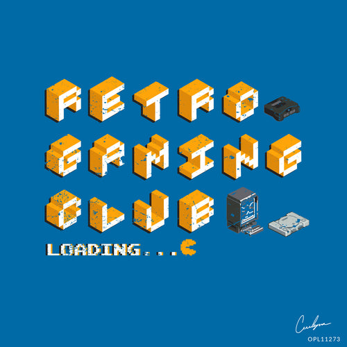 3D Retro Gaming Club Art