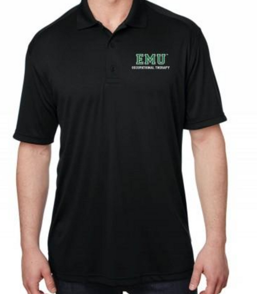 Occupational Therapy Black Polo (Listing ID: 4597019869253)