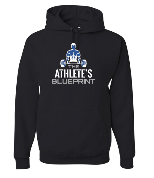 The Athlete's Blueprint Fleece Hoodie(Listing ID : 4606628298821)