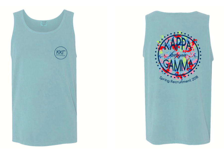 KKG WVU Recruitment Tank Top