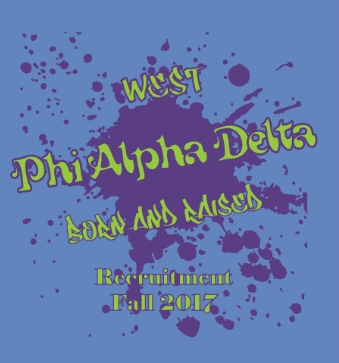 Phi Alpha Delta Recruitment Art