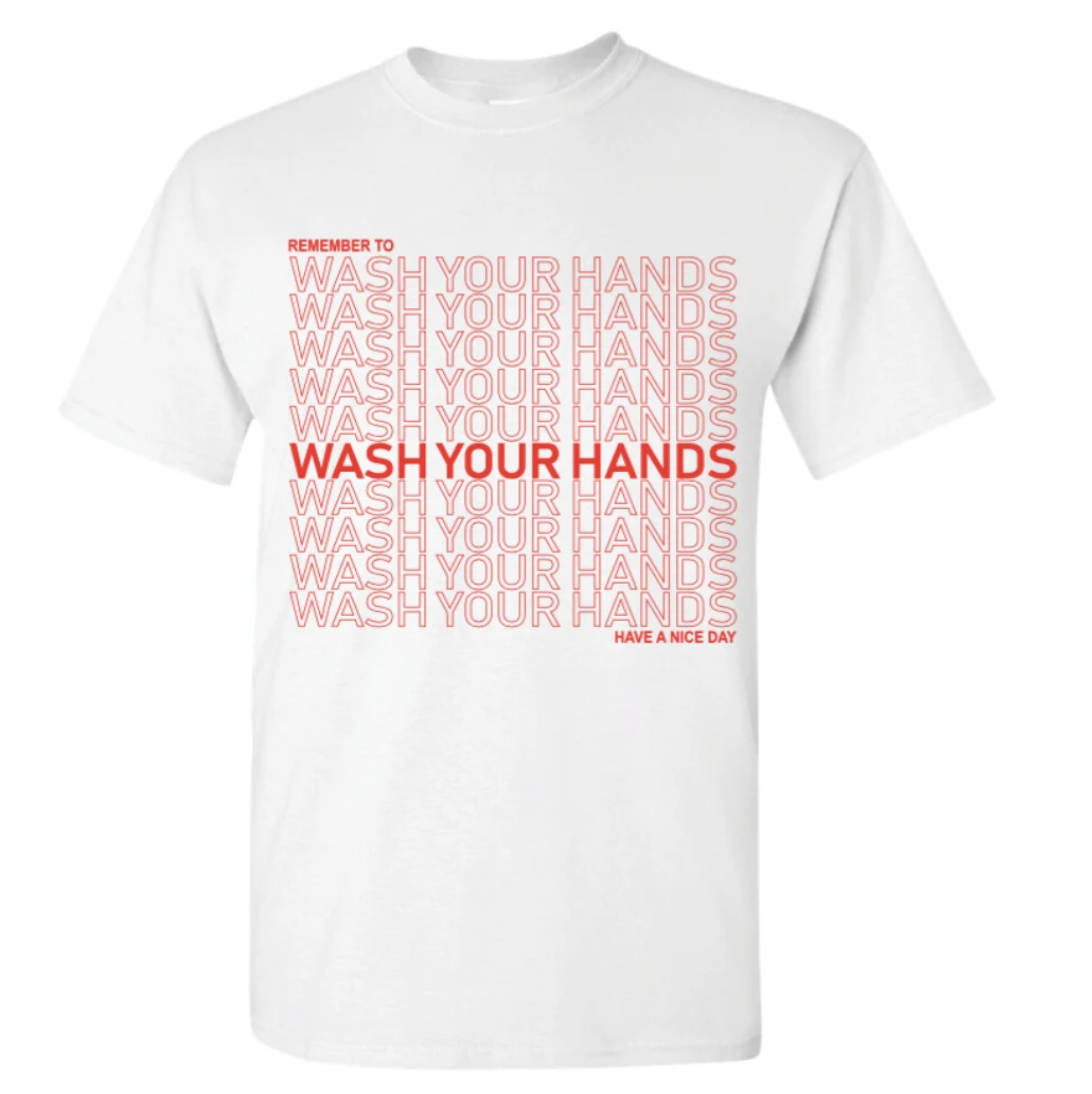Wash Your Hands Tee(Listing ID:4404158922821)