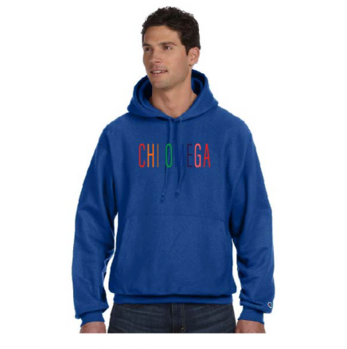 ChiO Letters Hoodies!(Listing ID : 4647476101189)
