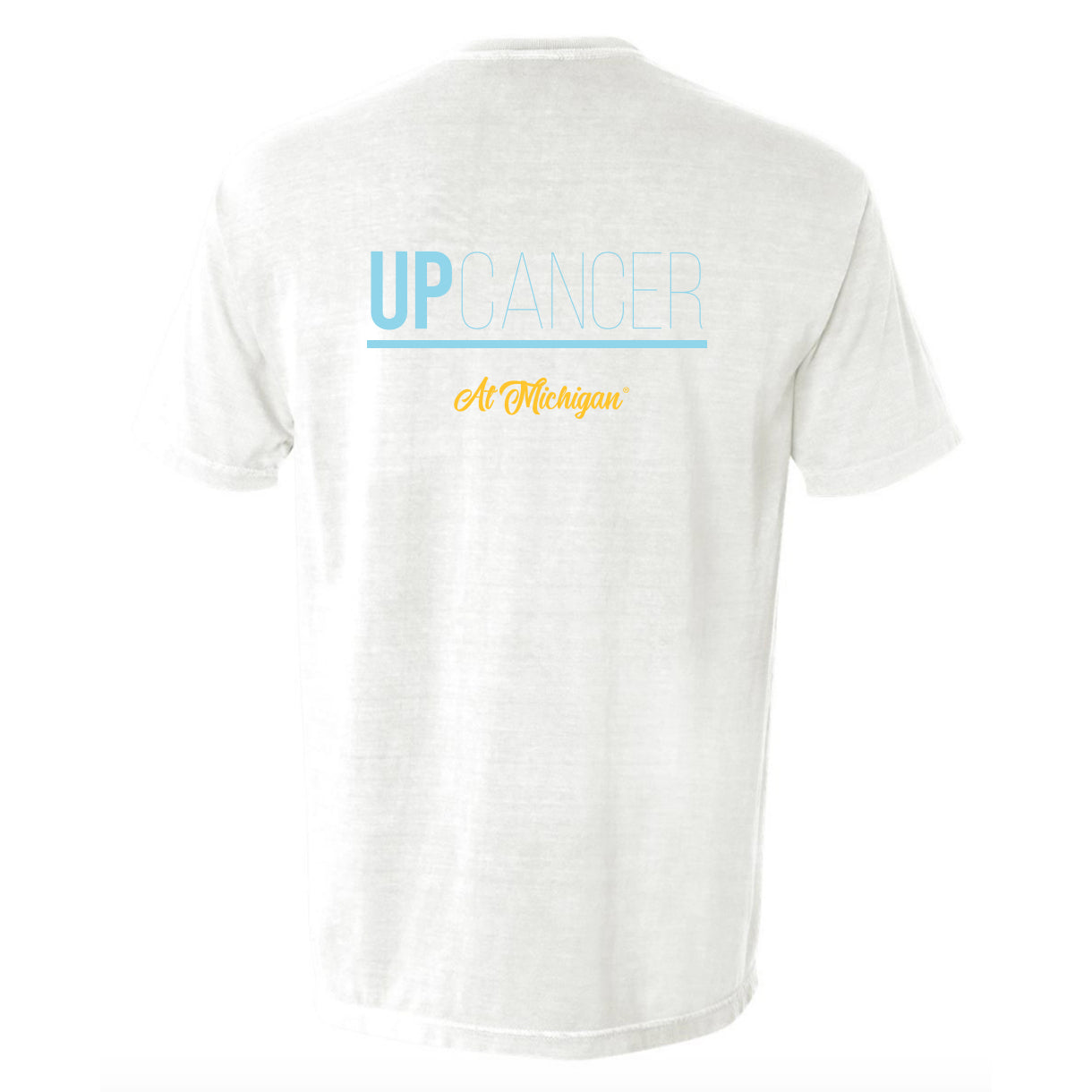 Up Cancer White Ribbon Shirt (Listing ID: 6582543548485)