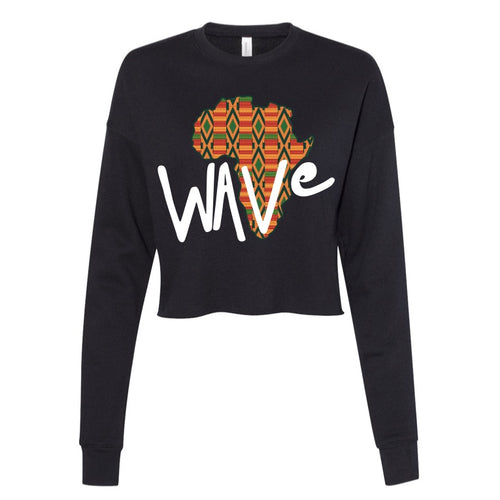 WAVe Long Sleeve Cropped Fleece (Listing ID: 4583224606789)