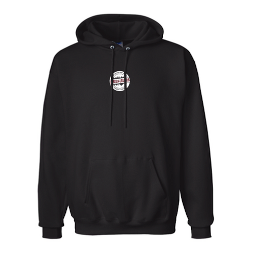 Black Hoodie with Centered Logo (Listing ID: 4673916305477)