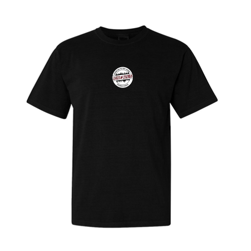 Black T-Shirt with Centered Logo (Listing ID: 4673894678597)