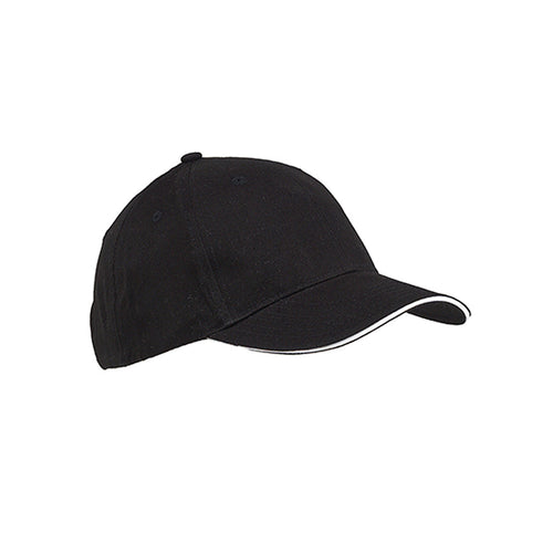 6-Panel Twill Sandwich Baseball Cap