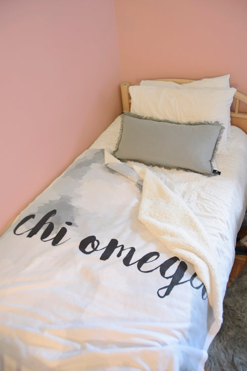 "The Chi O ""Couldn't be Softer"" Sherpa Blanket"