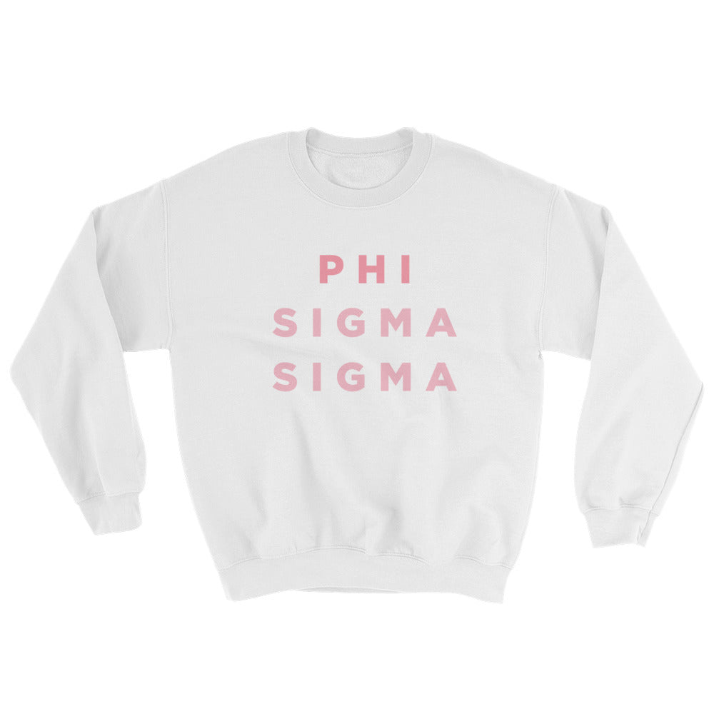 "The Phi Sig ""Pizza Night"" Crewneck"