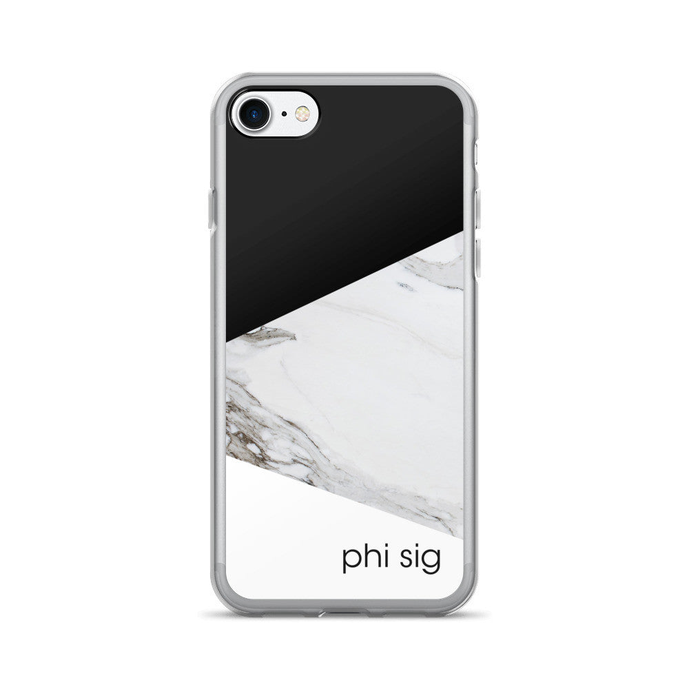 "The Phi Sig ""Skinny Dipper"" iPhone 7/7+ Case"