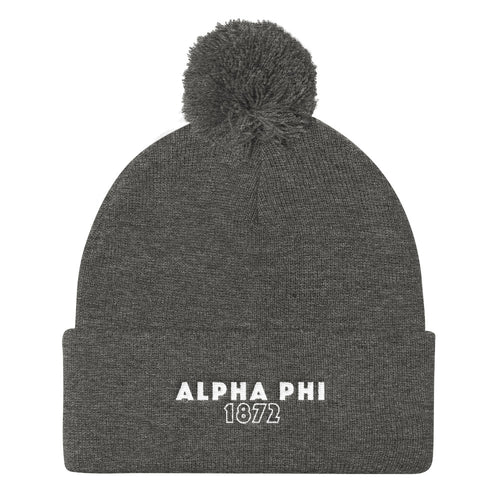 "The Alpha Phi ""Snowed In"" Beanie"