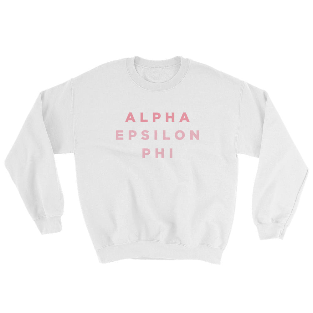 "The AEPhi ""Pizza Night"" Crewneck"