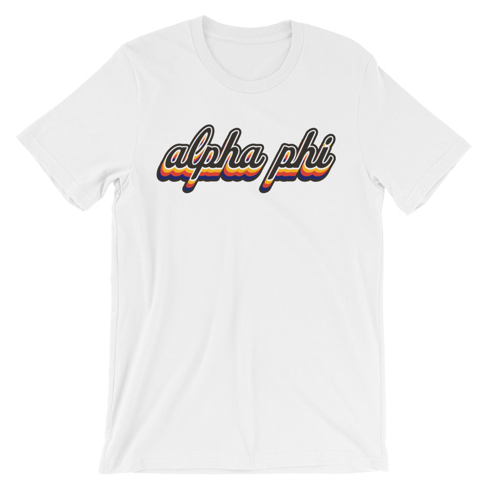 "The Alpha Phi ""Fake it & Make it"" Tee"