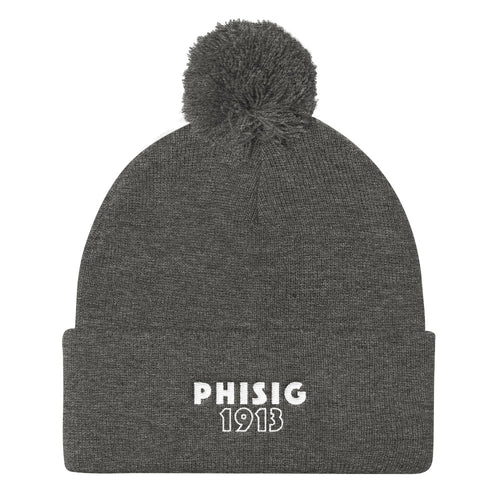 "The Phi Sig ""Snowed In"" Beanie"