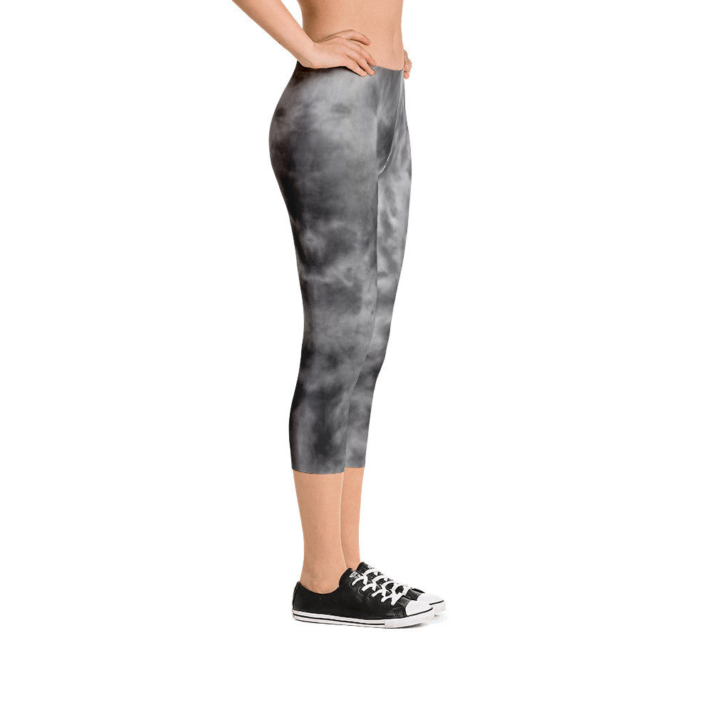 "The Phi Sig ""Cloudy Day Capri"" Leggings"
