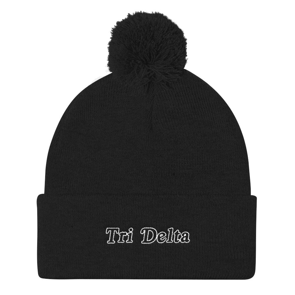 "The Tridelta ""Snow Darty"" Beanie"