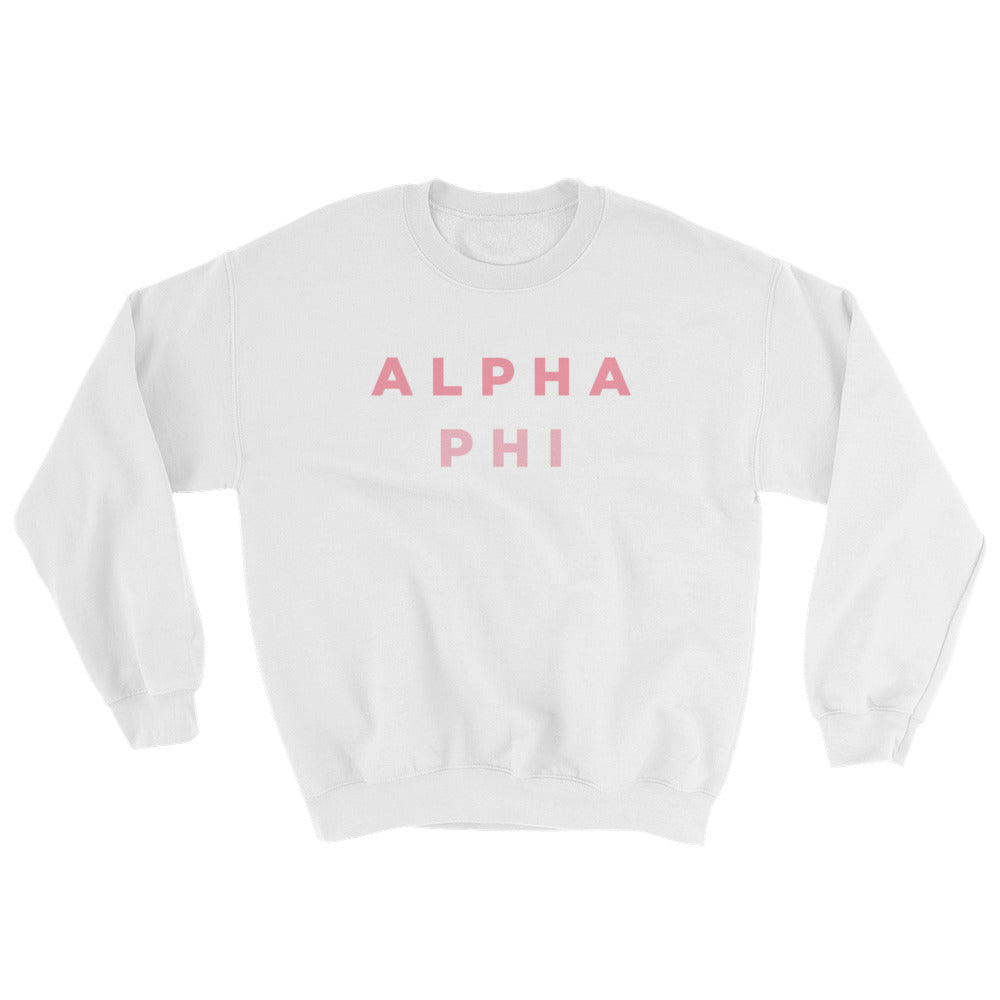 "The Alpha Phi ""Pizza Night"" Crewneck"