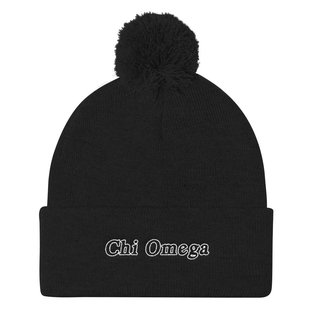 "The ChiO ""Snow Darty"" Beanie"