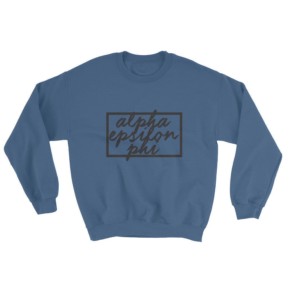 "The AEPhi ""Chill n' Grill"" Crewneck"