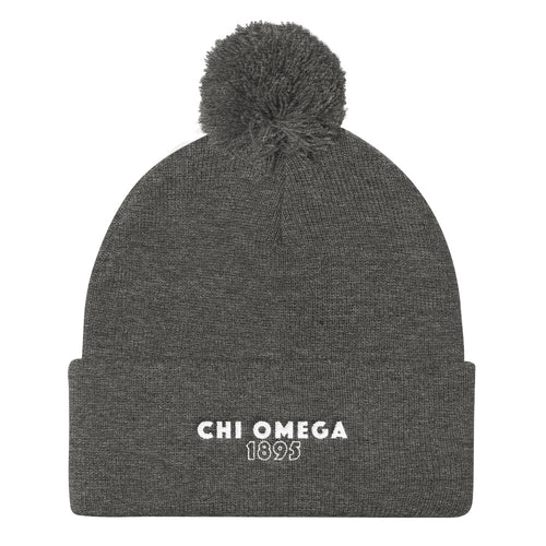 "The ChiO ""Snowed In"" Beanie"