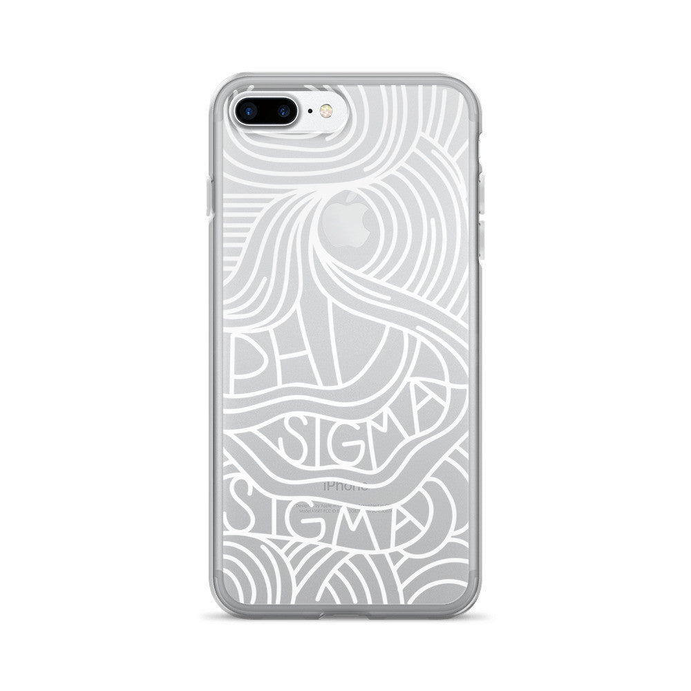 "The Phi Sig ""Case With A View"" iPhone 7/7 Plus Case"