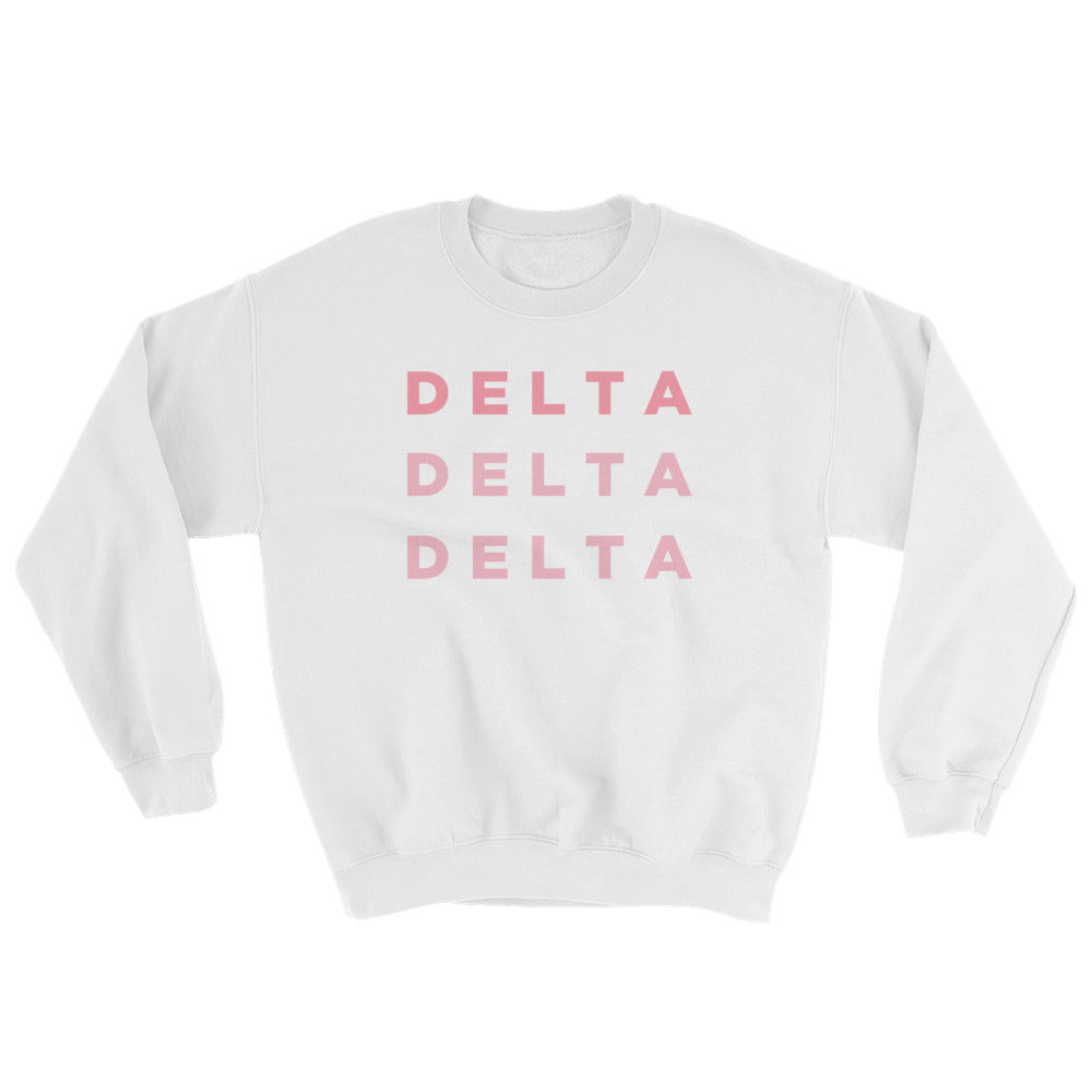 "The Tridelta ""Pizza Night"" Crewneck"