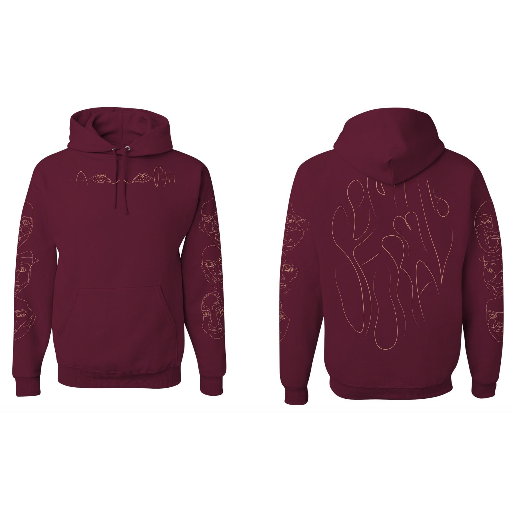 Phi Semi-Formal Hoodies '18
